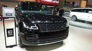 9 Amazing New 2019 Land Rover Range Rover Cars Debut At Paris Motor Show 2018