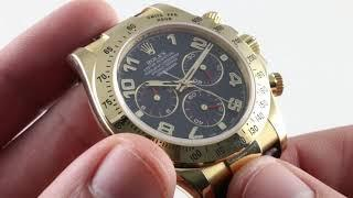 Rolex Cosmograph Daytona 116518 Luxury Watch Review