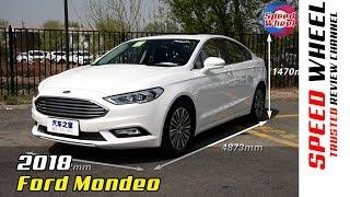 2018 Ford Mondeo Family Car EcoBoost Luxury Interior & Exterior