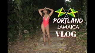 Vlog 28 | Life In Jamaica: PORTLAND MINI VACAY, FRENCHMAN'S COVE, BAYVIEW ECO RESORT AND SPA!!!