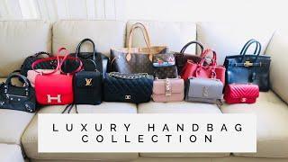 เปิดกรุกระเป๋าแบรนด์เนม 2018 | Luxury Handbag Collection l Pammie E