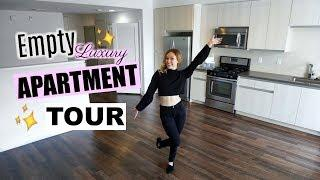 MY EMPTY LUXURY STUDIO APARTMENT TOUR! | My New Apartment! Vlogmas Day 3