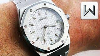 Audemars Piguet Royal Oak MID SIZE  (14790ST) Luxury Watch Review