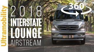 (360 degree video) 2018 Airstream Interstate Lounge Ext Review | Luxury Touring Coach Seats 9