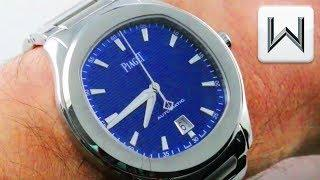 Piaget Polo S BLUE DIAL: Budget Patek Philippe Nautilus Rival? G0A41002 Luxury Watch Review