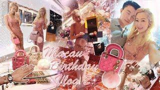 MACAU 30TH BIRTHDAY VLOG 2 ❤️???????? LUXURY SHOPPING ???? CHANEL, DIOR, LOUIS VUITTON, ROLEX AND MO