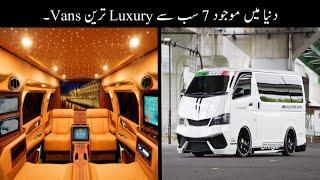 Dunia Me Maujood 7 Subse Luxury Tareen Vans | Zabrdast Minivans | Haider Tv