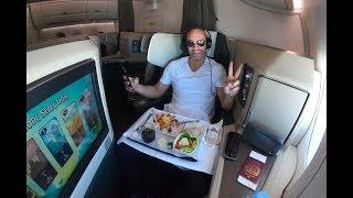 CATHAY PACIFIC BUSINESS CLASS AIRBUS A350 2018 *LUXURY*