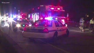 Young driver impaled by pole during crash in Pasadena