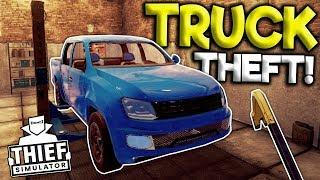 THIEF STEAL LUXURY TRUCK FROM HOUSE! - Thief Simulator Gameplay 2018 - Thief Sim Game