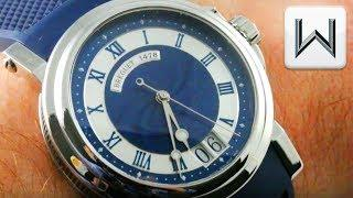 Breguet Marine Big Date, Blue Guilloche, Steel (5817ST/Y2/5V8) Luxury Watch Review
