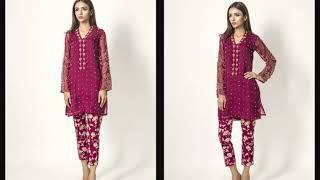 MINA HASAN STYLISH LUXURY PRET COLLECTION FOR WOMEN || DESIGNER WOMEN COLLECTION 2019