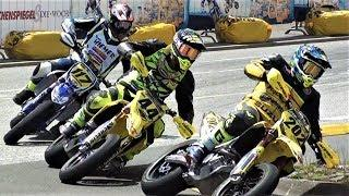 Supermoto St. Wendel 2018 IDM / Jump's , Fight's & Crashes / Race Day / Motorradrennen