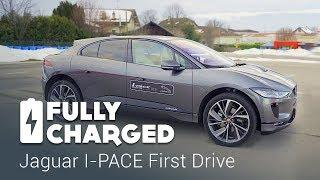 Jaguar I-PACE First Drive | Fully Charged