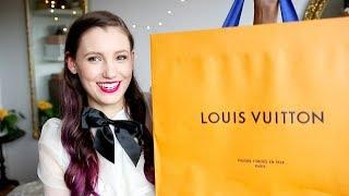My First Louis Vuitton Handbag!! Luxury Unboxing & Reveal