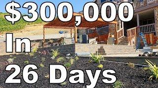 $300,000 Landscaping Job In 26 Days (Luxury Landscape Construction)