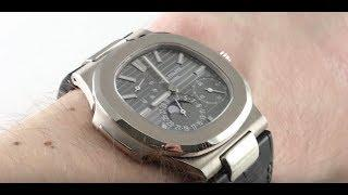 Patek Philippe Moon Phase 5712G-001 Luxury Watch Review