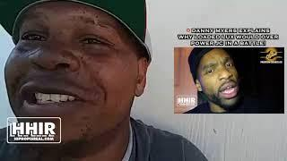 DANNY MYERS EXPLAINS WHY LOADED LUX VS JC WOULD BE A MISTAKE!