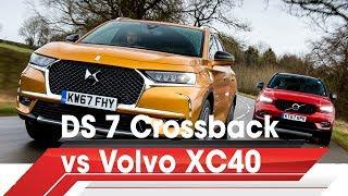 DS 7 Crossback vs Volvo XC40