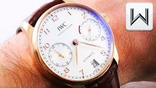 IWC Portugieser Automatic 7-Day (IW5007-01) Luxury Watch Review