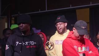 BRIZZ RAWSTEEN vs LOSO rap battle hosted by John John Da Don | BullPen Battle League