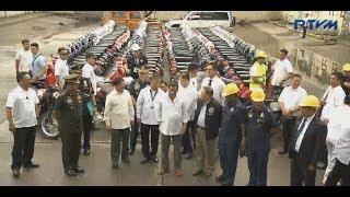 Pres. Duterte sinira ang 122 puslit na luxury motor vehicles sa Port Area Manila - May 30, 2018
