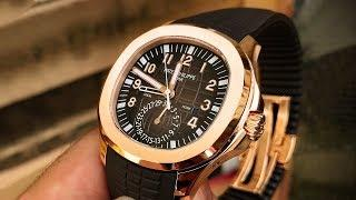 Patek Philippe Aquanaut 5164R - Luxury Watch Review