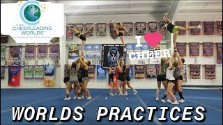 Last practice before WORLDS || TEAMMATE PASSED OUT ||Cheerleading Worlds 2019