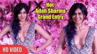 HOT & Sexy Adah Sharma Makes Grand Entry At Lux Golden Rose Awards 2018