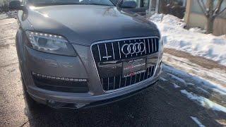 2012 Audi Q7 Milwaukee, WI, Kenosha, WI, Northbrook, Schaumburg, Arlington Heights, IL 5169