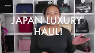 JAPAN LUXURY HAUL FT. CHANEL,HERMES,CARTIER & JO MALONE!