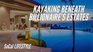 Tour BILLIONAIRE'S cliff-side estates and their PRIVATE SEA CAVES! (SoCal Lifestyle)