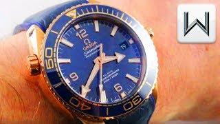 Omega Seamaster Planet Ocean 600m Blue Ceramic Bezel (215.63.44.21.03.001) Luxury Watch Review