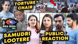 Jodis Torture Celebrities | Luxury Budget Task 'Samudri Lootere' | PUBLIC REACTION | Bigg Boss 12