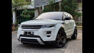 OM BOS'S RANGE ROVER EVOQUE, HER NAME IS VICTORIA