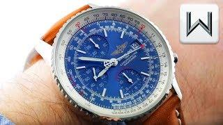 Breitling Navitimer Heritage Chronograph BLUE DIAL A1332412/C942 Luxury Watch Review