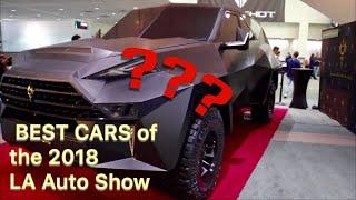 2018 LA AUTO SHOW - Best cars of the show!