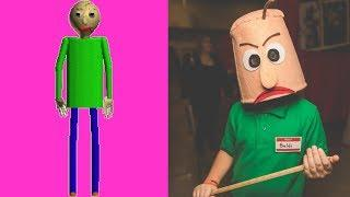 BALDI'S BASICS IN REAL LIFE! KIDS FUN 2018