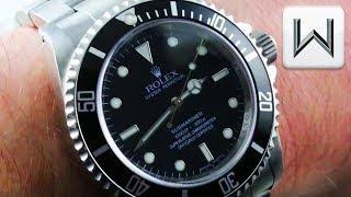 "Rolex Submariner ""No Date"" Chronometer (14060M) Luxury Watch Review"