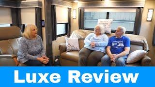 Luxe Elite luxury fifth wheel 42MD Review