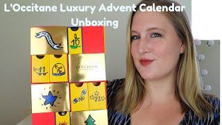 L'Occitane Luxury Advent Calendar Complete Unboxing