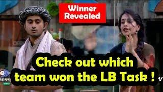 Check Out Which Team Won The Luxury Budget Task | Bigg Boss 12