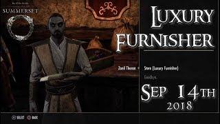 ESO Guide | Luxury Furnisher September 14, 2018 // Zanil Theran