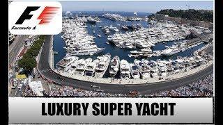 Monaco F1 Grand Prix Onboard a Luxury Super Yacht!!! (Captain's Vlog 78)