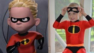 Incredibles 2 Characters in Real Life