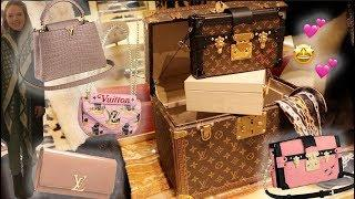 LOUIS VUITTON Luxury Shopping Vlog ☆ PETITE MALLE ☆ CAPUCINES BB ☆ BOITE CHAPEAUX ☆NEW WAVE☆TWIST MM