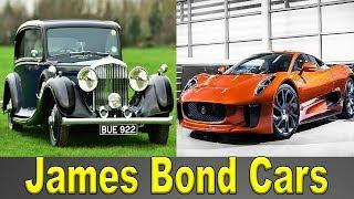 ALL JAMES BOND CARS