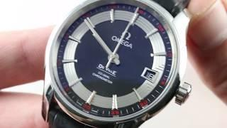 Omega De Ville Hour Vision 431.33.41.21.01.001 Luxury Watch Review