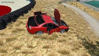 EXTREME CRASHES - High Jump From The Tunnel - BeamNG Drive #462