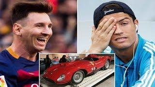 Messi VS Ronaldo ★ Cars Collection